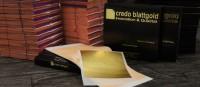 Złoto płatkowe transferowe 80x80 mm