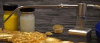 Akcesoria do złota i srebra w proszku