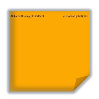 Złoto płatkowe luźne dukatowe podwójne 23 karaty – 10 płatków