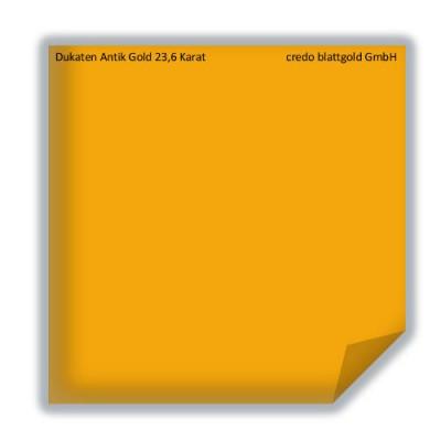 Złoto płatkowe transferowe dukatowe antyczne 23,6 karata