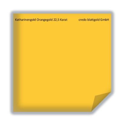 Złoto płatkowe luźne pomarańczowe Katharinengold 22,5 karata