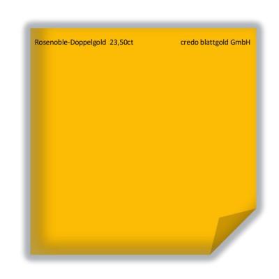 Złoto płatkowe luźne rosenoblowe podwójne 23,5 karata – 25 płatków
