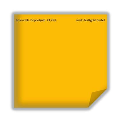 Złoto płatkowe luźne rosenoblowe podwójne ekstra 23,75 karata – 10 płatków
