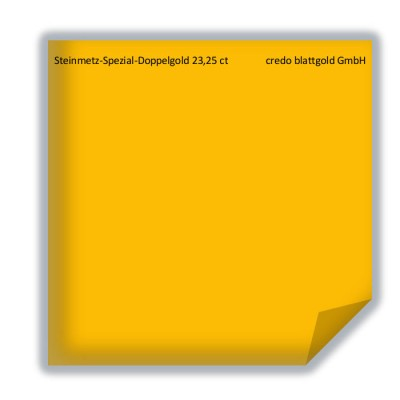 Złoto płatkowe luźne dla kamieniarzy specjalne 23,25 karata