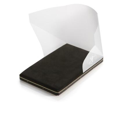Poduszka pozłotnicza z uchwytem i miejscem na nóż – do złota płatkowego luźnego
