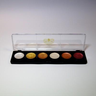 Kasetka malarska AVALON – 6 farb perłowych