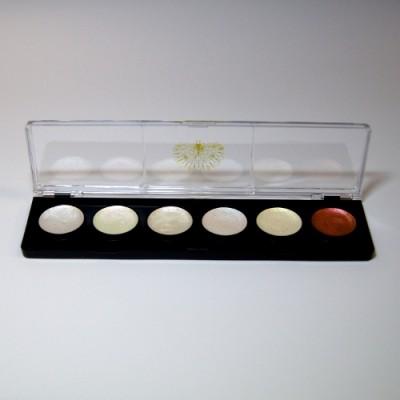 Kasetka malarska NYMPHE – 6 farb interferencyjnych