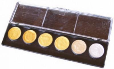 Kasetka malarska RESTAURATOR – 12 farb metalicznych