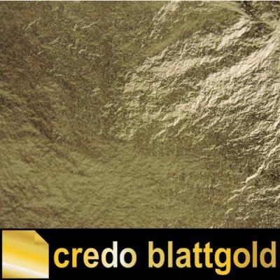 Szlagmetal luźny zielone złoto – kolor 3 – w pudełku