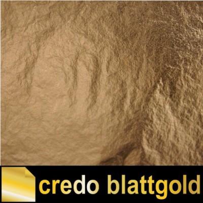 Szlagmetal luźny średni złoty – kolor 2,5 – w pudełku