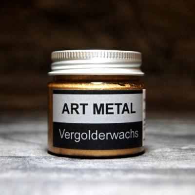 Wosk pozłotniczy Art Metal antyczny złoty – 50 ml