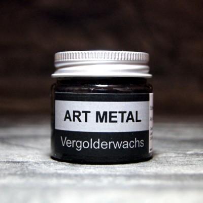 Wosk pozłotniczy Art Metal czarny – 50 ml