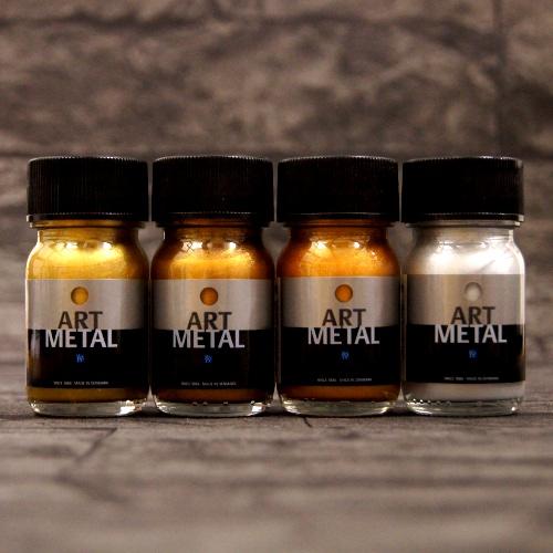 4 lakiery metaliczne Art Metal 30 ml w zestawie