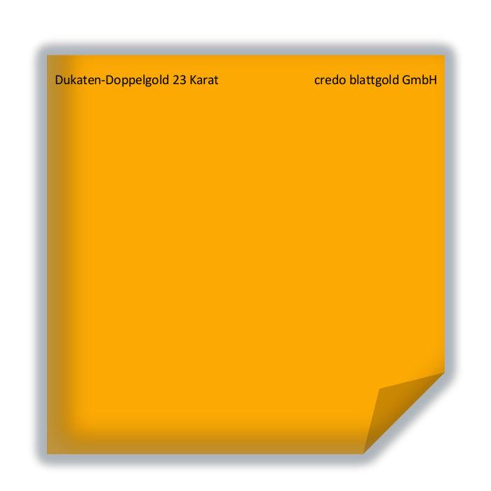 Złoto płatkowe transferowe dukatowe podwójne 23 karaty – 10 płatków