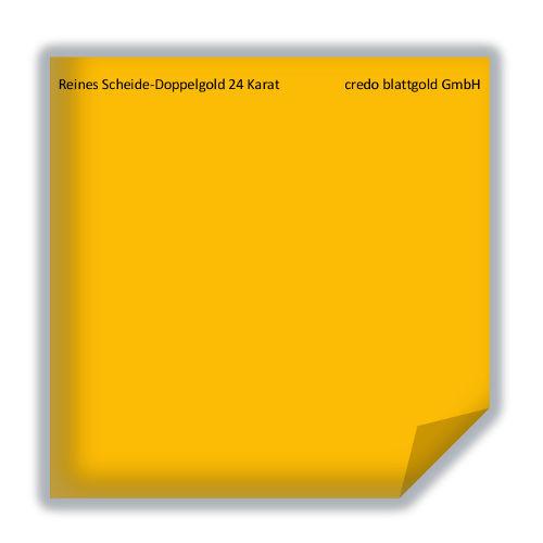 Złoto płatkowe transferowe czyste podwójne ekstragrube 24 karaty – 10 płatków