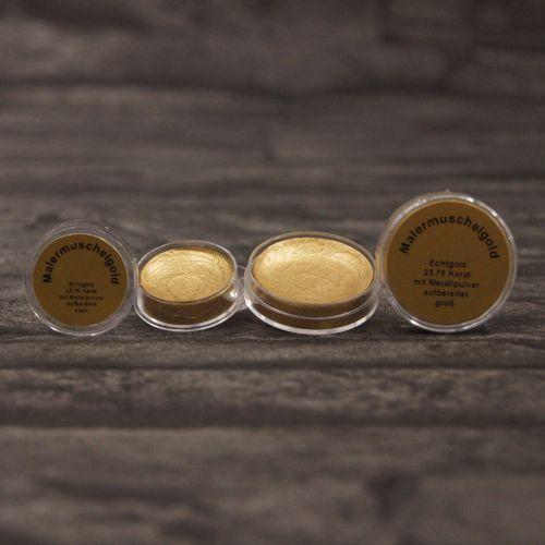 Malarskie złoto muszelkowe 23,75 karata – mały pojemnik