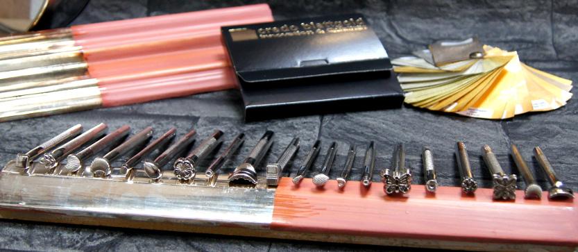Akcesoria i narzędzia pozłotnicze