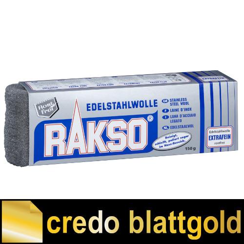 Wełna ze stali szlachetnej Rakso ekstradrobna – 150 g